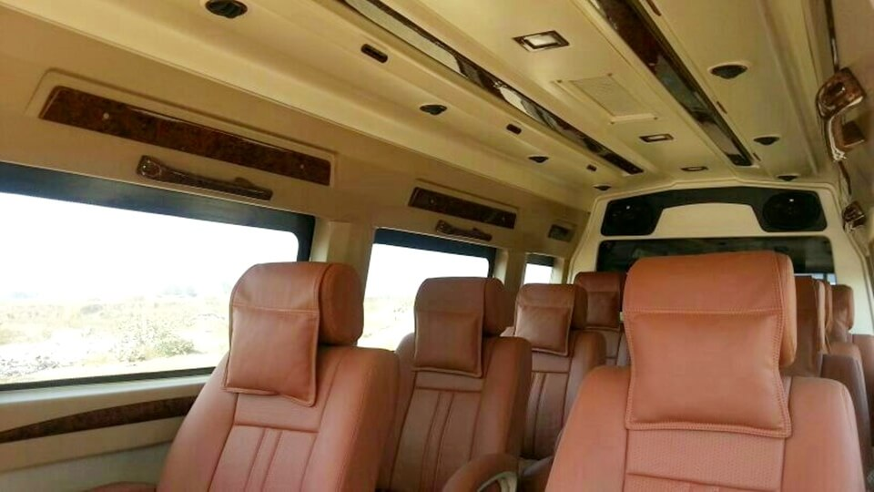 rental tempo travellers