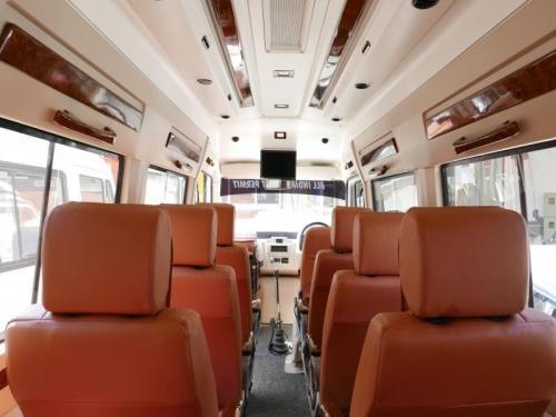 12 seater Maharaja luxury interior