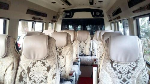 12 seater deluxe interior Photo