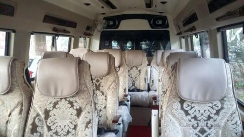12 seater deluxe interior Picture